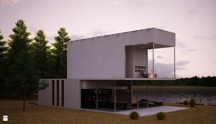 Dom nad jeziorem Dyrektora Artystycznego - Domy - Styl Nowoczesny - Beautiful Minds Projektowanie Wnętrz