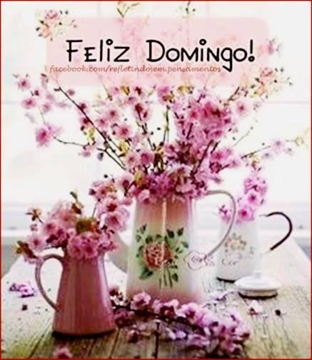 Bom dia!! Que seu domingo seja muito feliz e cheio de amor!