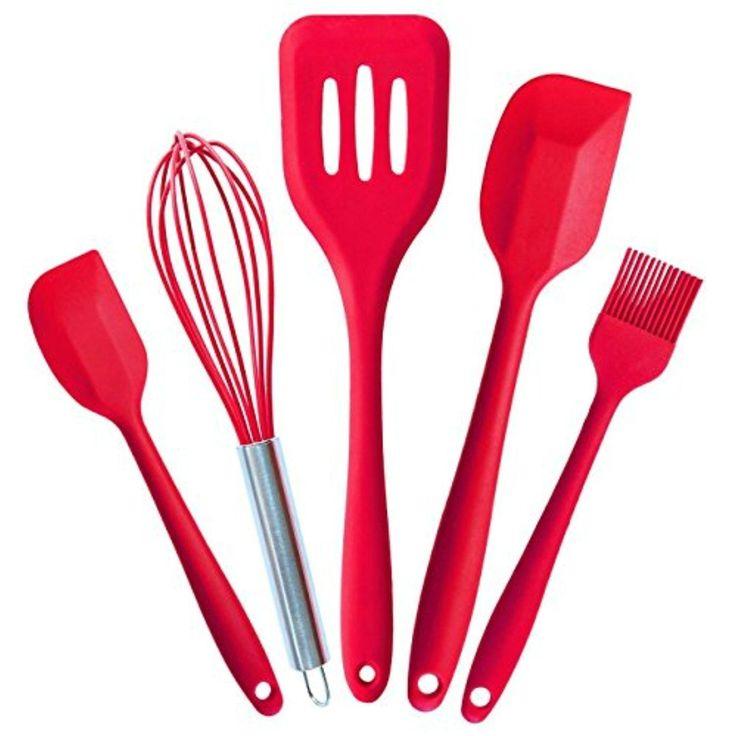 best 25+ silicone kitchen utensils ideas on pinterest | kitchen