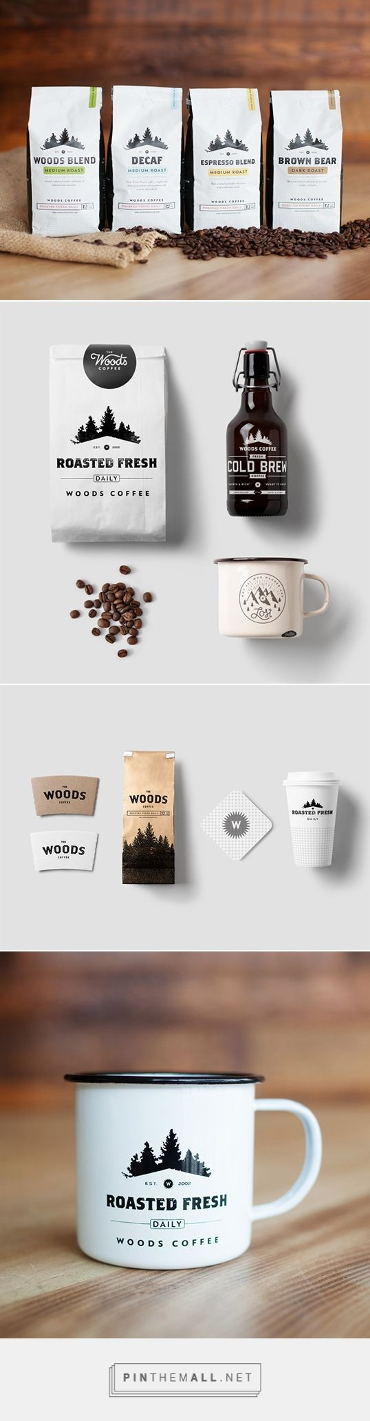 Woods Coffee | Lovely Package... - #coffeepackaging