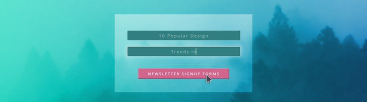 Behind every good email newsletter, there is a great signup form.