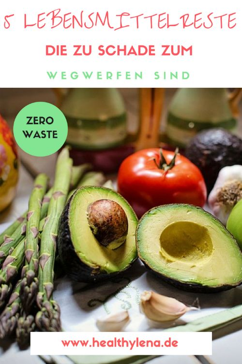 Statt viele Lebensmittelreste wie gewöhnlich wegzuwerfen, habe ich mich nach weiteren Verwendungsweisen auf die Suche gemacht. Auf diese Weise spart man nämlich nicht nur Geld, sondern lebt auch deutlich nachhaltiger. Und ich war selbst überrascht, wie vielseitig sich viele Lebensmittelreste tatsächlich einsetzen lassen. Aber seht selbst: diese 5 Dinge sind definitiv zu schade zum Wegwerfen: Zero Waste!