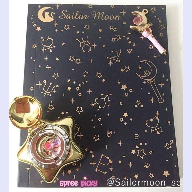 Sailor Moon Crystal Magic Power Blank Notebook SP153012