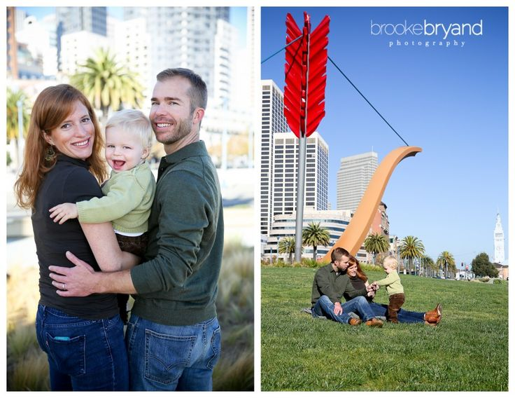 Brooke Bryand Photography | San Francisco Family Photographer | Family portrait | Cupid's Span | Bow and Arrow | Embarcadero | Baby boy |