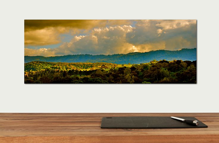"""Panoramic Canvas Print 