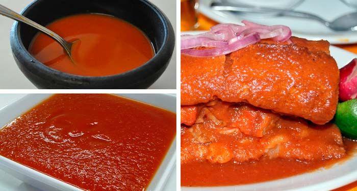 Salsa para Tortas Ahogadas | Además de la clásica salsa de jitomate, la salsa picante es la característica de una torta ahogada... Ingredientes para la Salsa Picante:  50 gramos de chile de árbol  1 taza de agua  1 trozo de cebolla  2 dientes de ajo  Media taza de vinagre blanco  Sal al gusto    Preparación:  1.Cuece los chiles de árbol con ajo y cebolla.  2.Una vez cocidos, muélelos con la taza de agua, el vinagre y la sal al gusto.