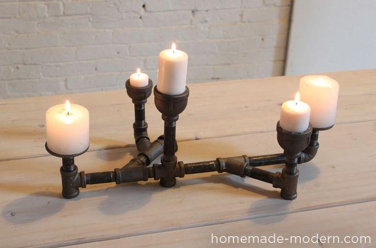 HomeMade Modern: Modern Candleholders (low)