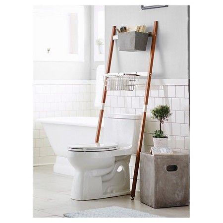 Etagere Storage Ladder Threshold Target Bathroom