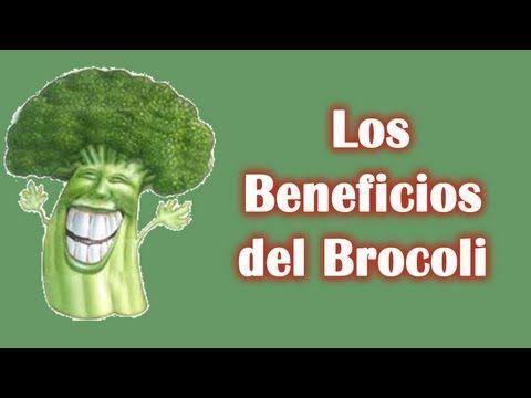 Aqui un resúmen de los beneficos del brocolí.. Visita nuestro canal: https://www.youtube.com/user/LaHierbasMedicinales