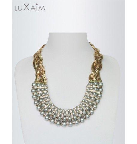 White Pearl fashion Necklace