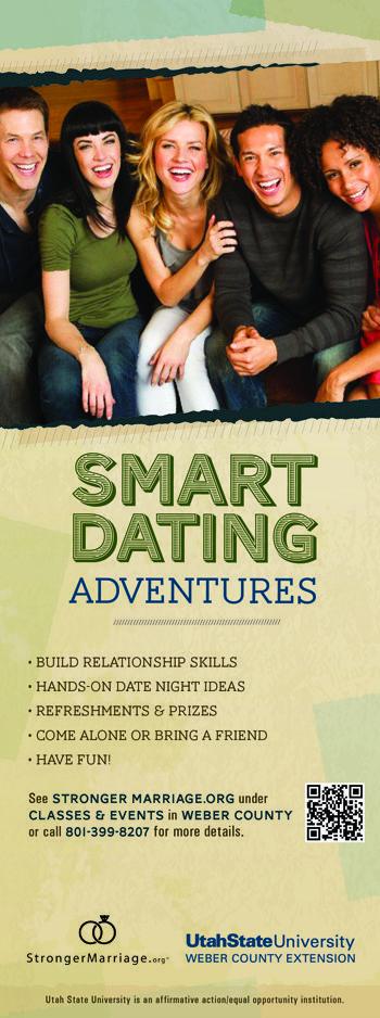 Smart Dating Adventures Rack Card