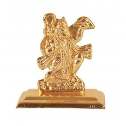 Golden Table Top Hanuman ji