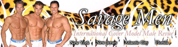 Savage Men's Night club and Sexy Cover Model Male Revue in Atlantic City performs every Saturday night time at New Jersey's famous Casey's Atlantic City Male Strip Clubs.