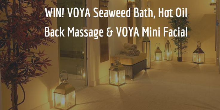 #COMPETITION WIN! VOYA Seaweed Bath, Hot Oil Back Massage & VOYA Mini Facial Worth €160 at No. 1 Pery Square Hotel & Spa. Immerse yourself in a luxurious and detoxifying warm seaweed bath before releasing all the tension from your back with a Hot Oil Back Massage and rejuvenating your skin with a VOYA Mini Facial. To Enter Simply Answer the Question via the Link, Good Luck✨