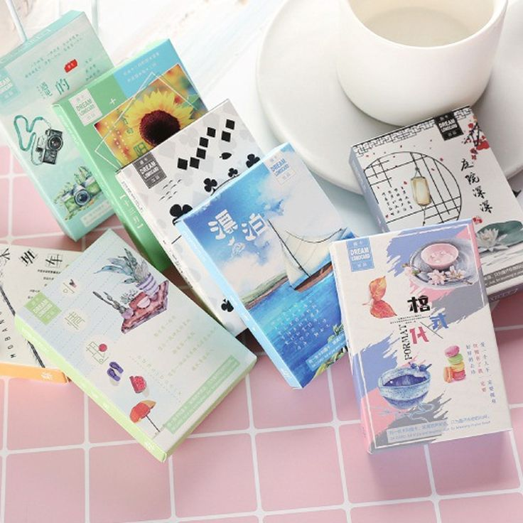 28 pcs/set Vintage Japanese style mini card greeting card lomo memo card kids gift postcard kawaii stationery #Affiliate