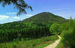 Luž - 793 m - znělcová kupa, nejvyšší hora Lužických hor.