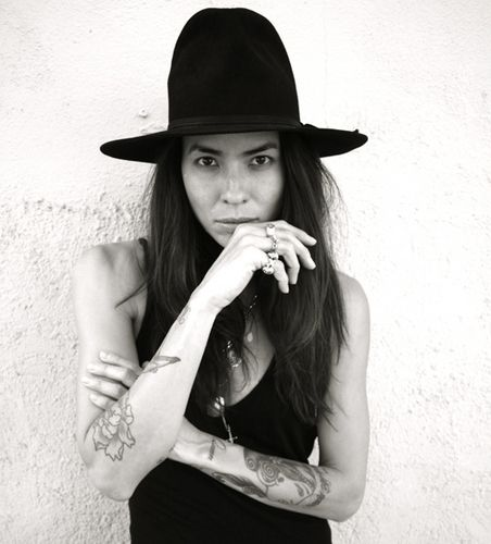 tasya van ree... tattoo's and hat's 2 of my favorite things ♡