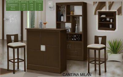 Decoraci n minimalista y contempor nea muebles modernos for Mueble bar moderno para casa