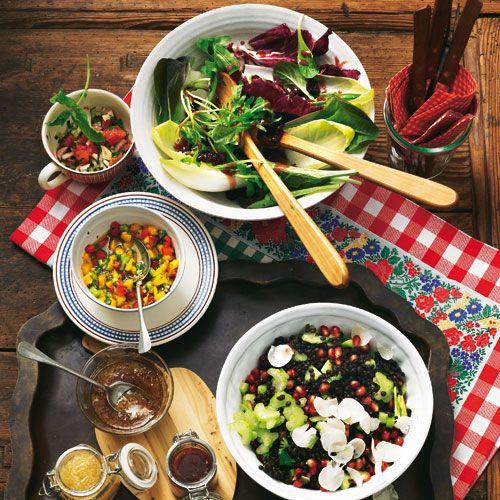 Leichte salate zum raclette