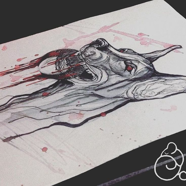 Зло доберман #dotwork #moon #crescent #halfmoon #dog #blood #tattoo #tattoospb #spb #sketch #graphics #тату #татуспб #доберман #собака #эскиз #эскизтату #полумесяц #кровь