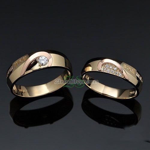 Cincin Kawin Gull  Model cincin kawin elegant ini sangan cocok dijadikan cincin kawin ataupun tunangan.  http://zlatajewelry.com  #weddingring #cincin #cincinkawin #cincintunangan