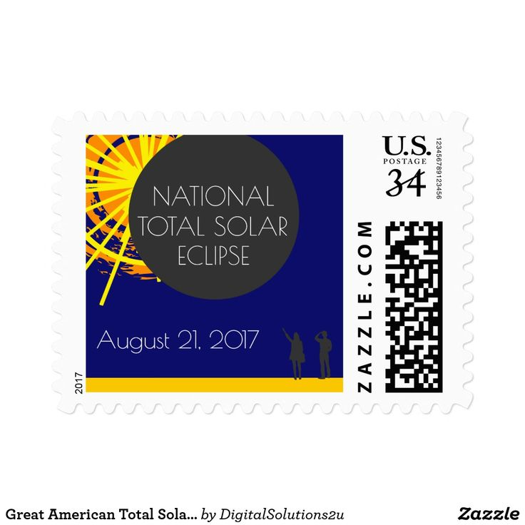 Great American Total Solar Eclipse Postage