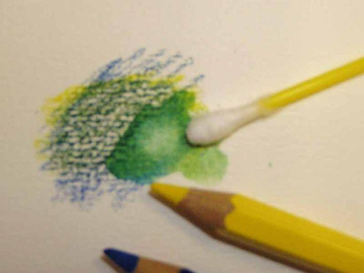 uitleg over het gebruik van aquarelpotloden op www.imprimatura.eu