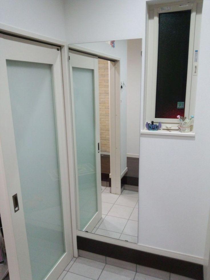 玄関のミラーや廊下の全身鏡をオーダーする方法 – オーダーミラー(ガラス鏡)専門店