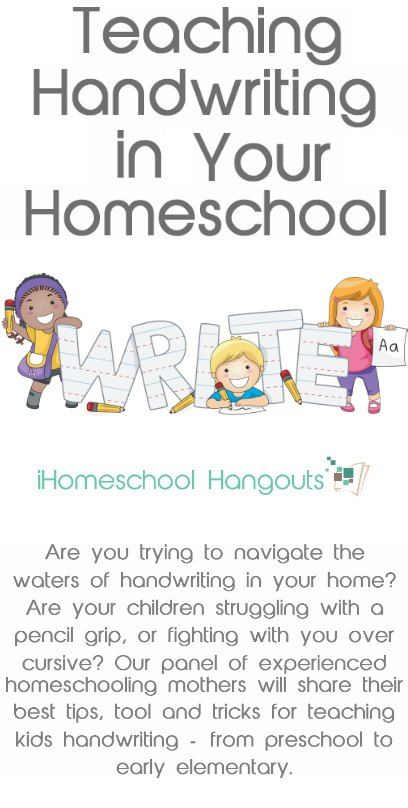 Having trouble teaching handwriting in your homeschool? Join our panel of experienced homeschool bloggers this week as we discuss tips and tricks for helping you teach handwriting to your children. #ihsnet