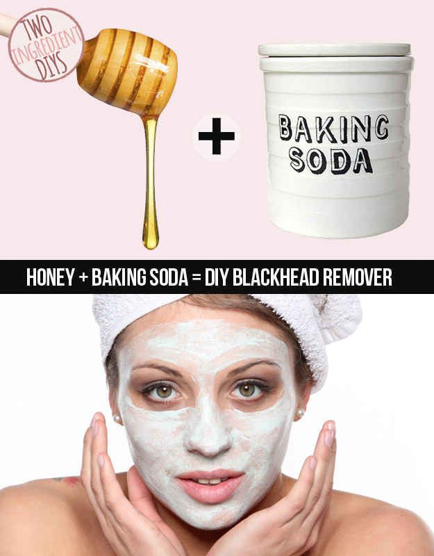 Struggling with stubborn skin? Try this DIY blackhead remover. | 27 Insanely Easy Two-Ingredient DIYs