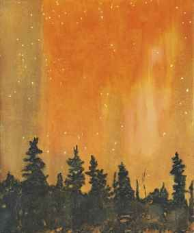 Peter Doig - Orange Forest