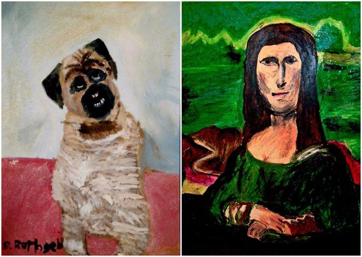 ¿Hasta dónde puede llegar nuestro entendimiento y tolerancia en cuanto al arte malo? Según el MoBA, ellos tienen las respuestas y estos son sus ejemplos.