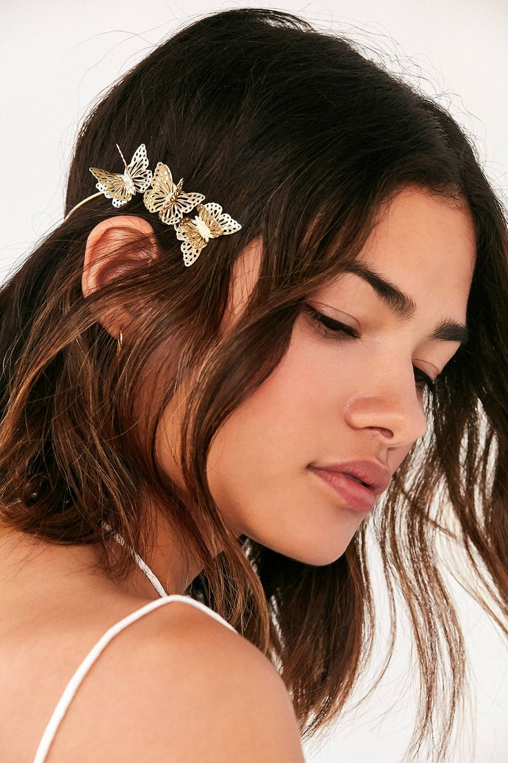 Slide View: 1: Butterfly Halo Headband