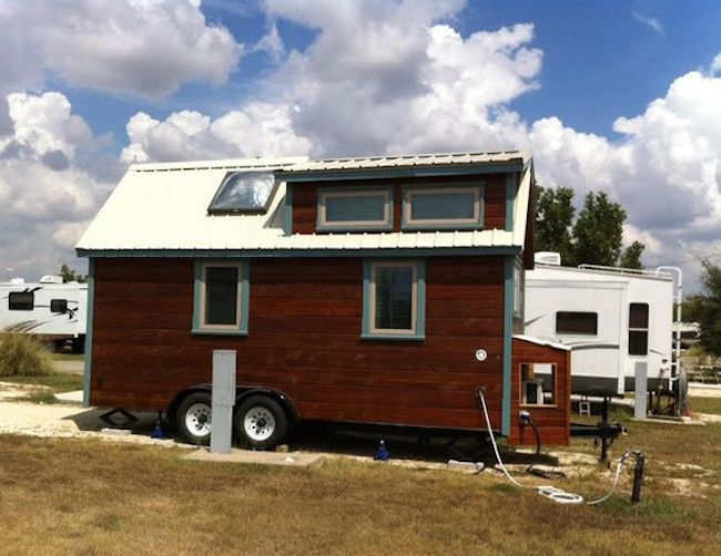This Couple Lives At A Texas RV Park In DIY Mobile Home
