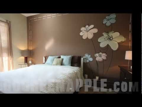8 best images about green apple painting tv on pinterest for Apple green bedroom ideas