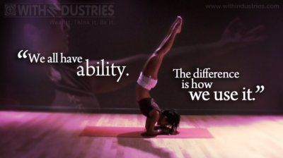 how do you use your ability #youcan