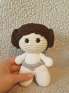 This is what came out of that: Medium Big Head Doll  Princess Leia Pattern Notes