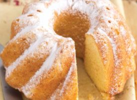 This easy cake can be sliced and frozen for up to one month. It's a great coffee cake for brunch or an afternoon snack, or as a barely-sweet dessert with your favorite fresh fruit.