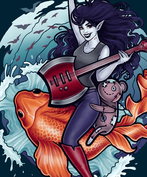 Megan Lara: Fine Art & Illustration - Daddy's Little Monster You can grab this on...