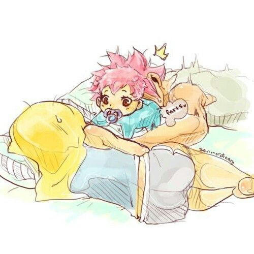 Nalu family | so adorable \(☆o☆)/