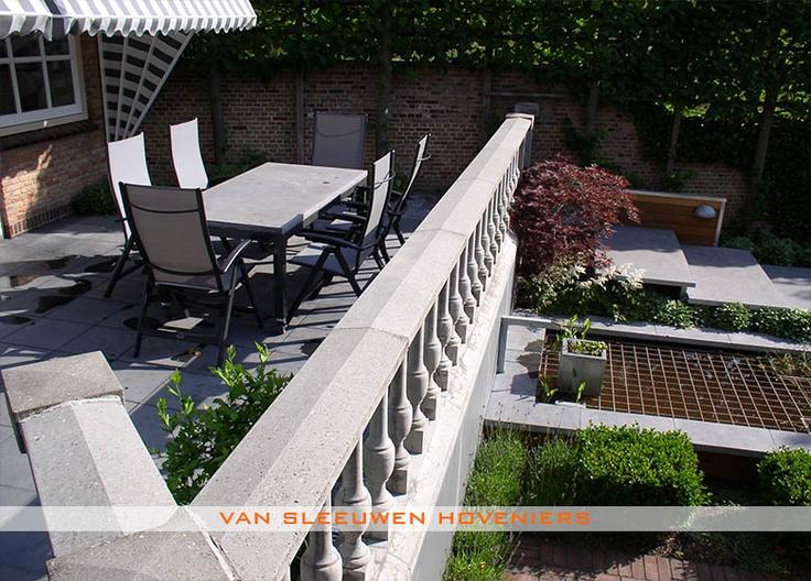 Stadstuin, ontwerp & aanleg door Van Sleeuwen Hoveniers - Veghel. Meer stadstuinen treft u op www.vansleeuwenhoveniers.nl.