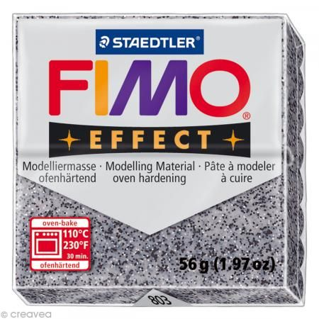 Fimo Effect Granit 803 - 56 gr - Photo n°1