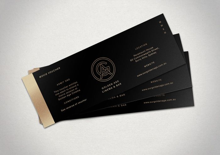 Buy Golden Age Cinema gift vouchers