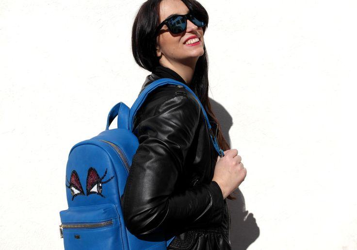 #ootd #backpack #zaino #pomikaki #bags