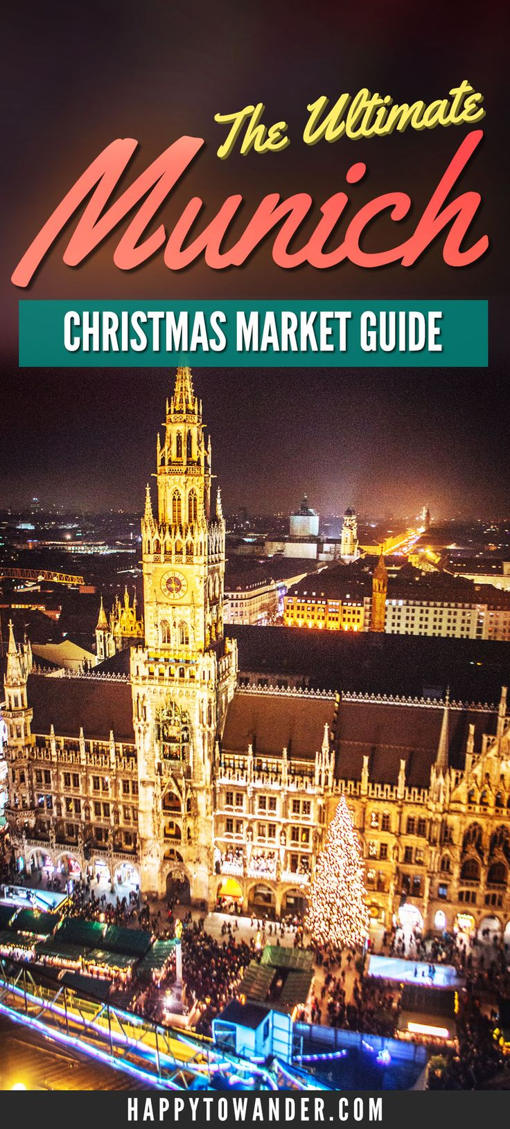 THE best and most thorough guide out there for Munich Christmas Markets! Don't miss this guide if you're planning on visiting Munich, Germany for Christmas Markets. Includes the best markets to visit, what to do, what to eat and more.
