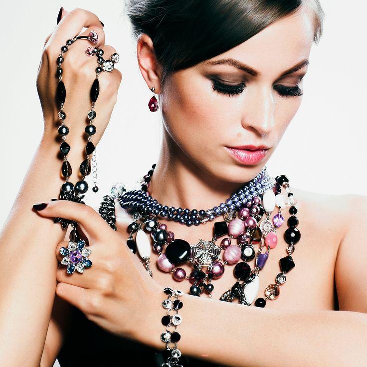 Multiple Necklaces