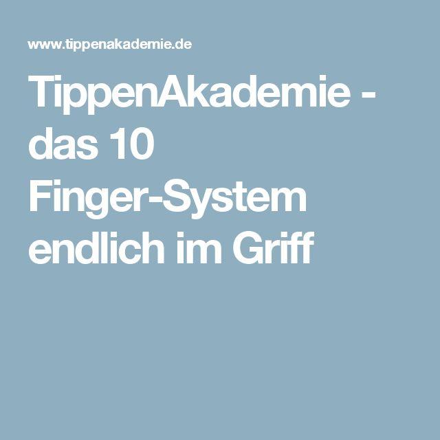 TippenAkademie - das 10 Finger-System endlich im Griff