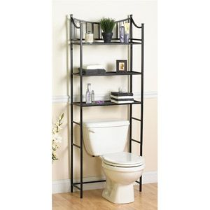 15 best images about bathroom decor ideas on pinterest wall racks shelves and vase - Bathroom storage small space model ...