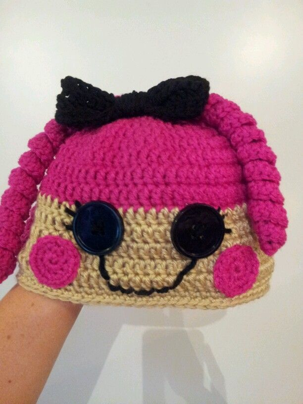 Free Crochet Pattern For Lalaloopsy Hat : Lalaloopsy hat Crochet Hats for Babies and Children ...