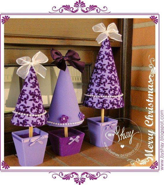Mas en Goma Eva:árboles de navidad de goma evamanualidades infantiles en goma…